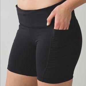 LULULEMON Speed Track Shorts size 4
